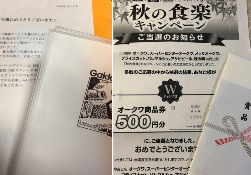 日本100名城公式ガイドブックカバー